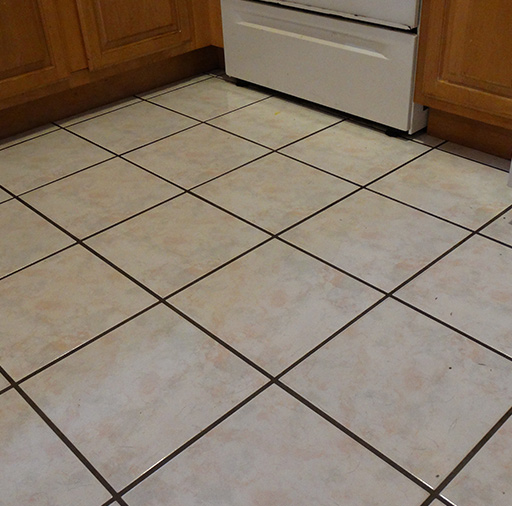 Filthy Grout Lines